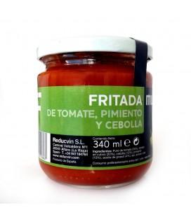 FRITADA DE TOMATE, PIMIENTO Y CEBOLLA